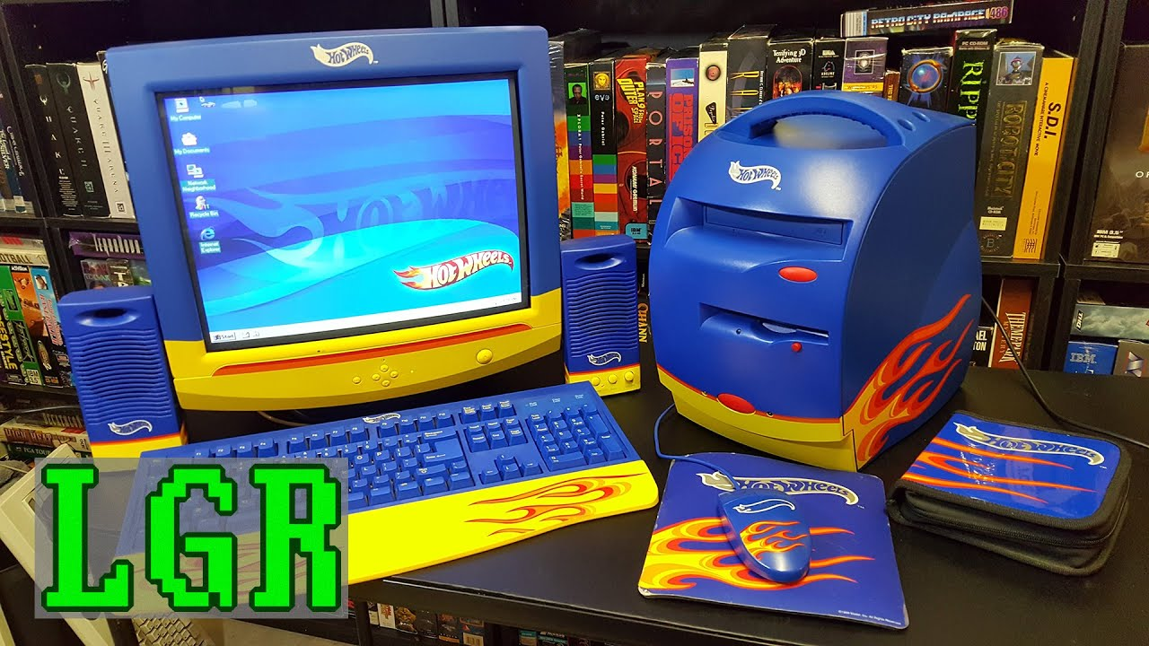 Bad Gaming Setup The Hot Wheels Pc Was Bad But Watching A Restored Model Run In