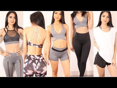 HUGE FOREVER 21 Fitness Clothing Haul | Diana Saldana