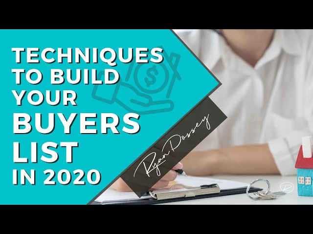 Wholesalers: Build The BEST Cash Buyers List 2020