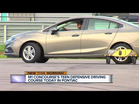 Teen defensive driving course today in Pontiac