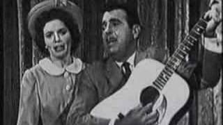 Tennessee Ernie Ford and June Carter - Together!