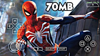 70 MB Spider Man Web Of Shadow PSP Highly Compressed Game