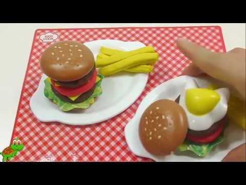 Juego play doh de cocina para ni os hamburguesa de plastilina yummy nummies youtube - Cocina play doh ...