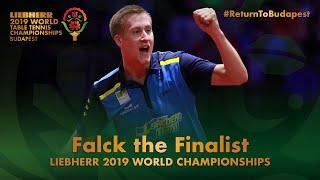 Mattias Falck the Finalist | 2019 World Table Tennis Championships - Budapest