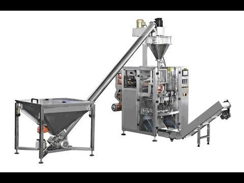 Automatic FFS detergent powder filling sealing packing machine Verpackungsmaschine fuer Waschpulver