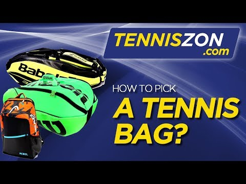 How to Pick a Tennis Bag?