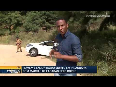 Homem é Encontrado Morto Em Piraquara - Primeiro Impacto PR (31/03/2020)