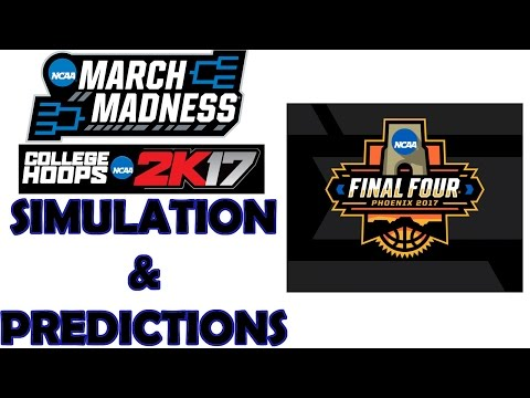 2017 NCAA Tournament Simulation on College Hoops 2K17 and Predictions {Join the SG1 Bracket Group}