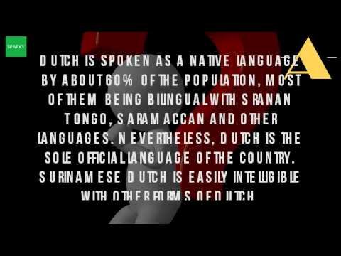 Why Does Suriname Speak Dutch?