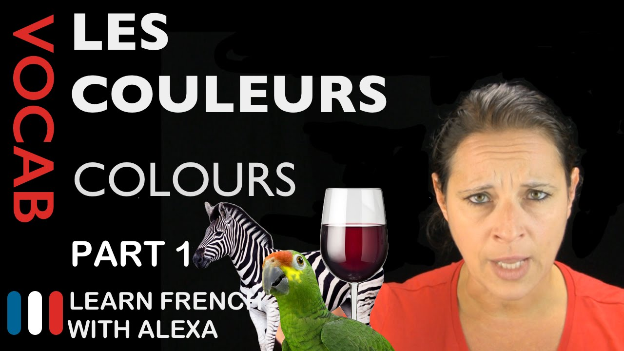 Colours In French Part 1 Basic French Vocabulary From Learn French