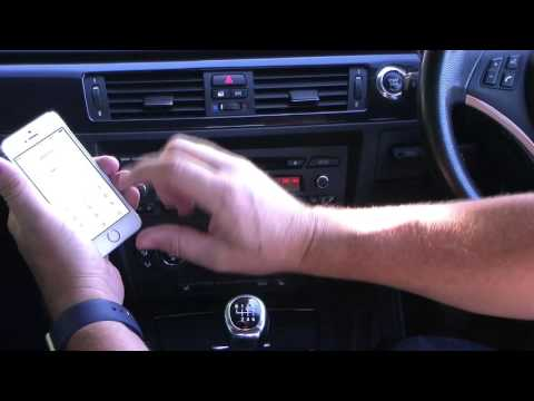 Pairing an iPhone with the bluetooth telephone system in a BMW 3 SERIES 2 0 320i SE 2dr + Full leath