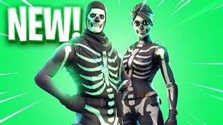 Le nouveau SKULL TROOPER Skins à Fortnite.