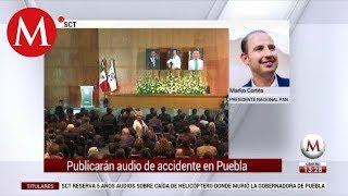 Marko Cortés habla sobre SCT publicará audio de accidente en Puebla