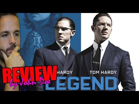 Legend - CRÍTICA - REVIEW - Tom Hardy - Brian Helgeland -  Emily Browning - John Doe