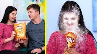 13 смешных пранков с едой