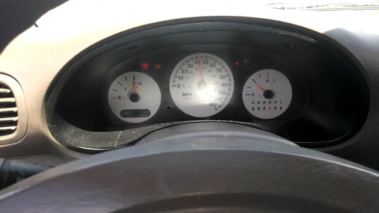 2003 Dodge Caravan Fuel Gauge Not Working