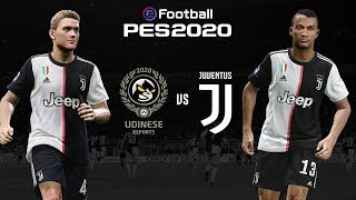Udinese V Juventus 🎮   Pes 2020 Friendly ⚽  Esports