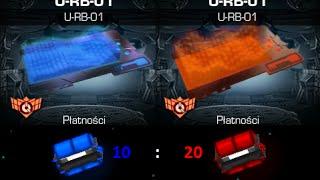 Pirackie Skrzynie (10Niebieskich&20Czerwonych)- No Limits DarkOrbit PL2