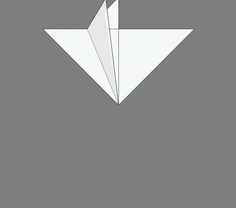 Оригами схема сборки летучая