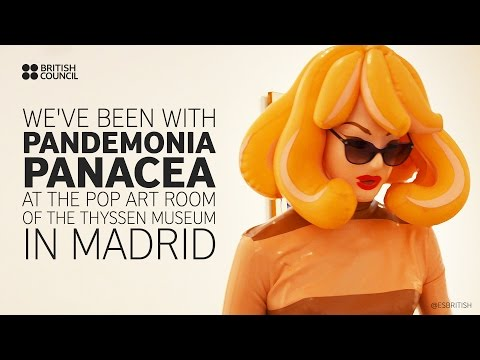 Pandemonia Panacea a 'living artist existing on the dividing line between reality and myth'