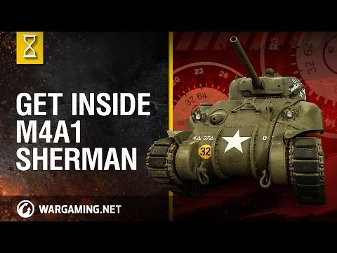 World of Tanks PC - Inside the Chieftain's Hatch: M4A1 Sherm