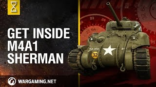 World of Tanks PC  Inside the Chieftain39;s Hatch M4A1 Sherman part 2