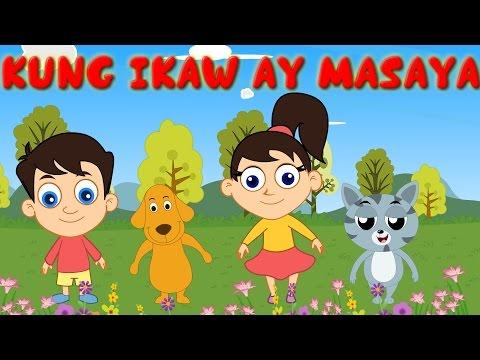 Kung Ikaw Ay Masaya Pumalakpak   Awiting Pambata Tagalog