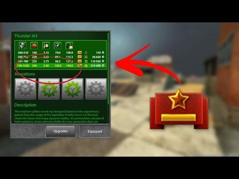Tanki Online THUNDER M4 IN MAJOR!? 100 KILLS IN 10 MINUTES