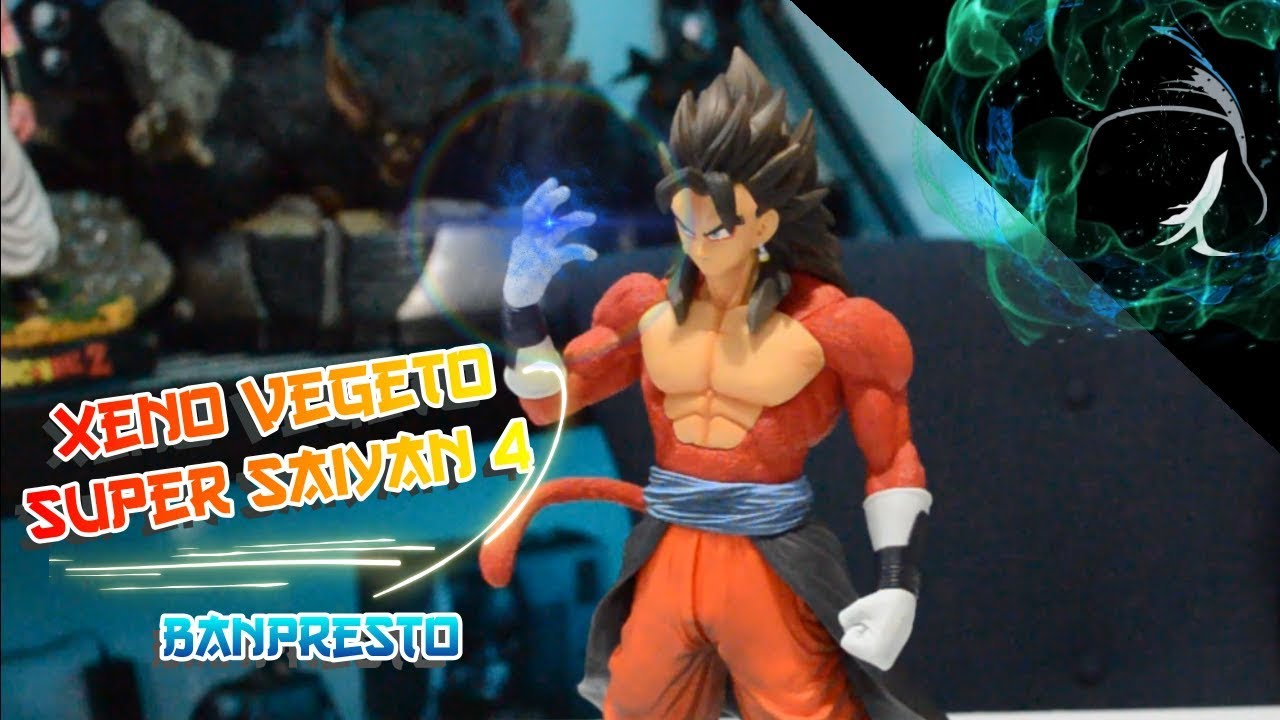 Super Dragonball Heroes Ichiban Vegito Zeno Super saiyan 4 SS4 Statue Bandai