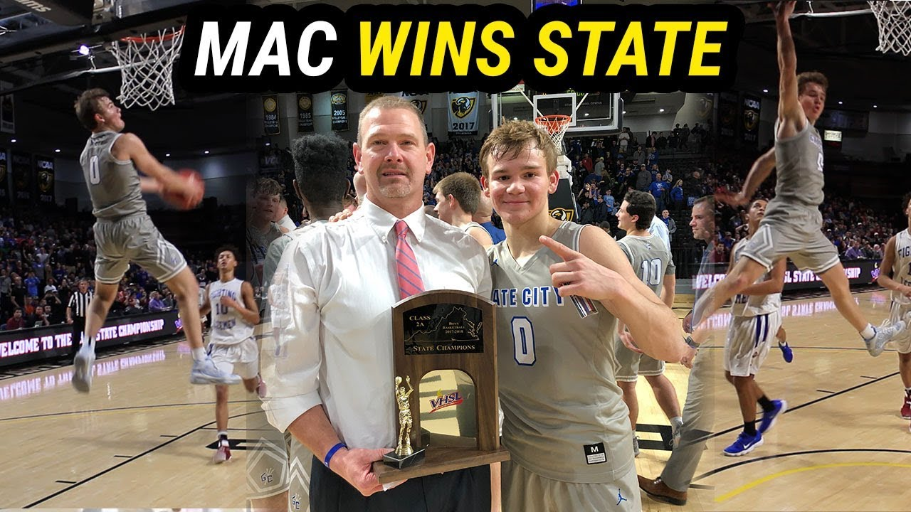 Image result for MAC MCCLUNG, VCU, STATE FINALS