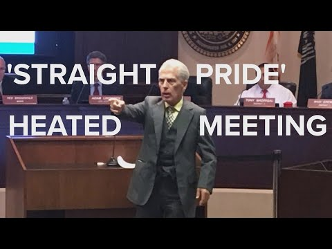 Modesto City Council meeting heats up over 'Straight Pride' event