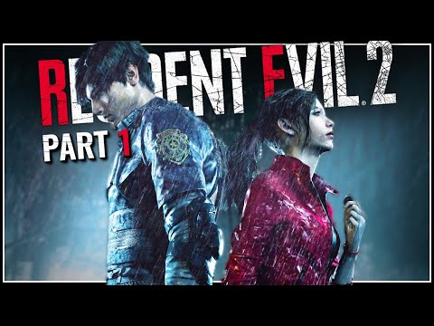 Let's Play Resident Evil 2 Remake Blind Part 1 - Doomsday Is Here [Leon A PC Gameplay]