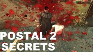 Postal 2 - Secrets & Hidden Weapons