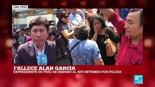 Último minuto: murió el expresidente peruano Alan García