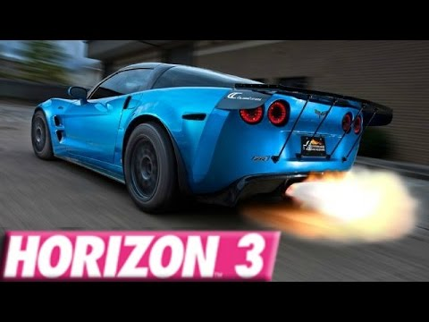 Forza Horizon 3 265 Mph Corvette C6 Zr1 Build Youtube