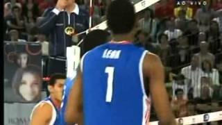 Cuba x Brasil   Final do Mundial de Vôlei Masculino 2010 parte 1 WMV