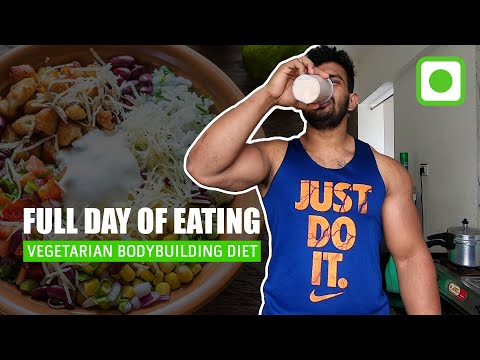 Vegetarian Bodybuilding Diet | Full Day Of Eating | Shravan Special |  Indian Bodybuilding Diet Plan
