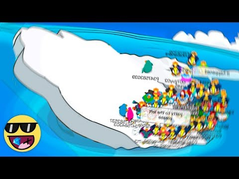 TIPPING THE RIGHT SIDE OF THE ICEBERG! - Club Penguin Rewritten w/ Buddermaster1097