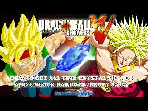 How to Get All Time Crystal Shards and Unlock Secret Bardock & Broly Saga - Dragon Ball Xenoverse