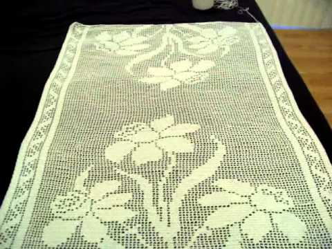 Last Update Crochet Table Runner Youtube