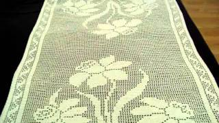 Last Update: Crochet Table Runner
