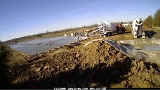 Scp Building Construction Cam - Part 3: Pouring Concrete Slab
