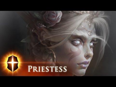 """""""White Priestess"""" - SpeedPainting by TAMPLIER 2015"""