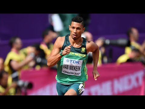 London 2017 Men's 400m Wayde Van Niekerk