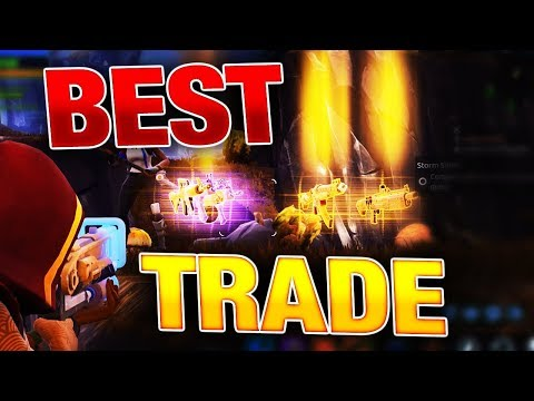 BEST Trades For LEGENDARY Weapons EVER! (Nocturno & Grave Digger) | Fortnite Save the World