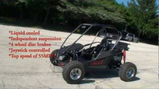 Adaptive Motor Sports Joystick Controlled All Terrain Vehicle