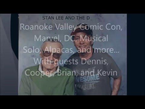 The Simply Incredible Podcast Roanoke Valley Comic Con, Comics, Alpacas...