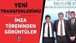 Yeni transferlerimiz için Vodafone Park'ta düzenlenen imza töreninden görüntüler ✍📹