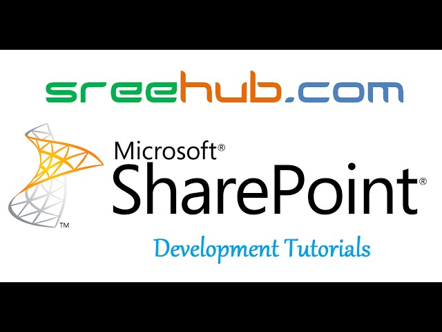 Sharepoint Development Tutorials - Step by Step Learning