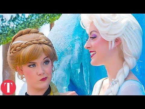 Thumbnail: 10 STRANGE Requirements To Work As A Disney Princess